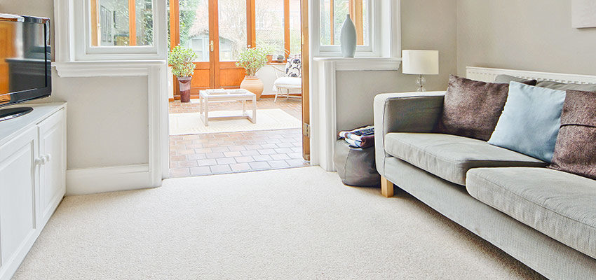 How often should you clean curtains, carpets, rugs and upholstery ?