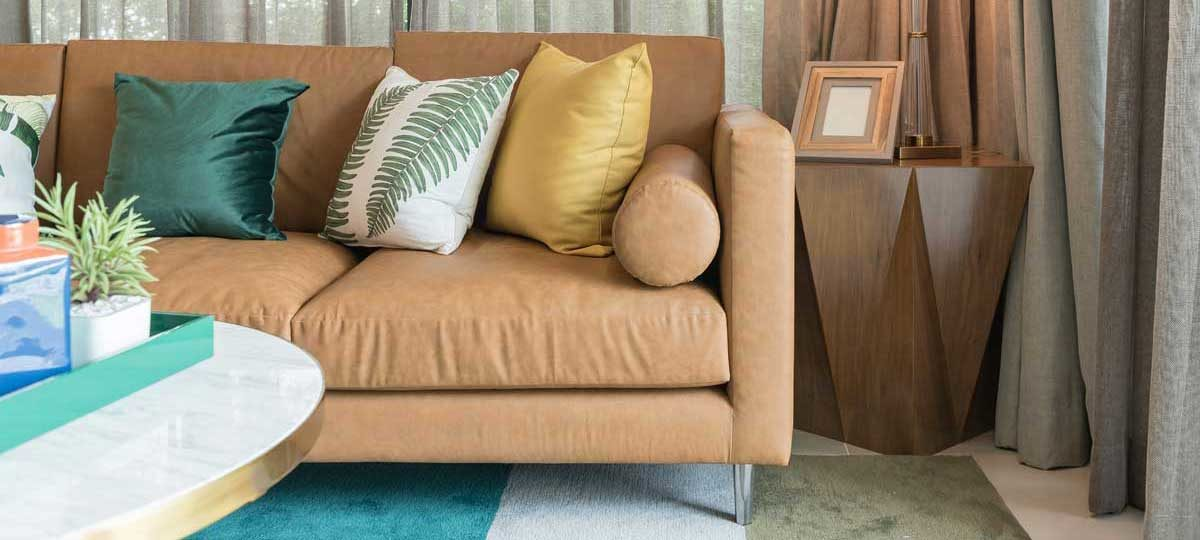 When to clean curtains, carpets and upholstery.