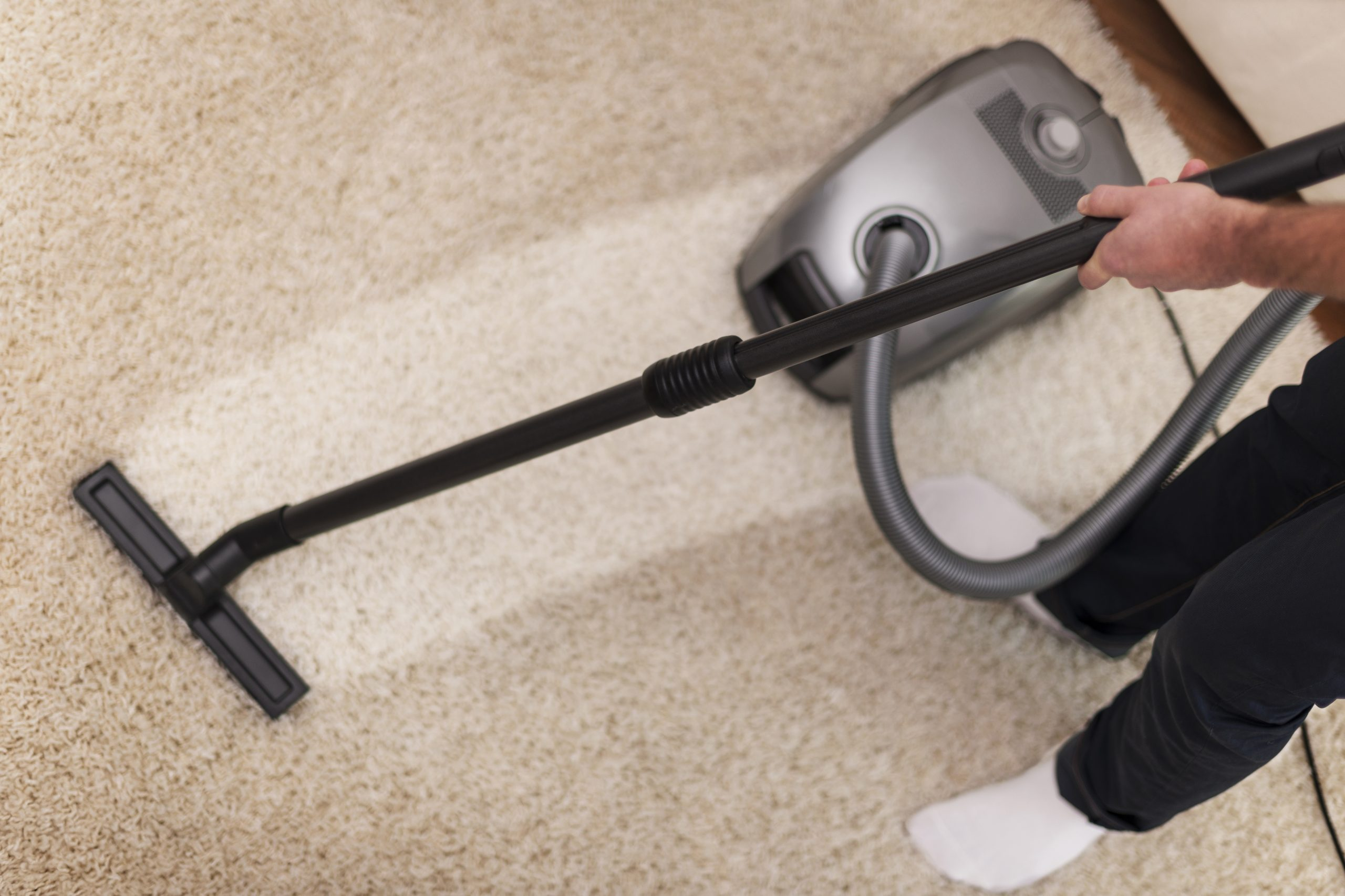 Cleaning furnishings saves money. January Sale.